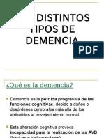 Los Distintos Tipos de Demencia