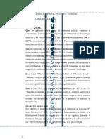 Formato - Normas Técnicas para proyecto de Salud