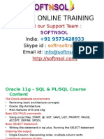 ORACLE ONLINE TRAINING CLASSES