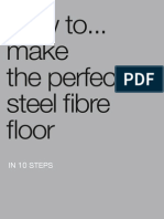Make perfect SFRC Floor