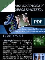 BIOLOGÍA EDUCACIÓN Y COMPORTAMIENTO I.ppt
