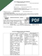 Planificación Curricular Por Bloques Lenguaje 9no - 2
