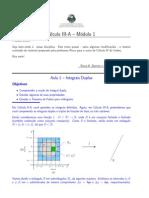 Início de Cálculo III-A