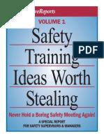 Safety Training Ideas Worth Stealing