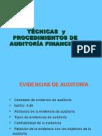 Procedimientos y Tecnicas de Auditoria