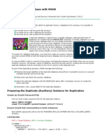 Duplicate Oracle Duplicate Oracle Database with RMANDatabase With RMAN