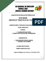 """Proyecto e Informe """"Practica de Valores"""""""