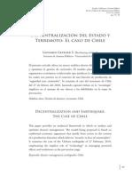 T.3. Letelier Leonardo - Descentralizacion y Terremoto