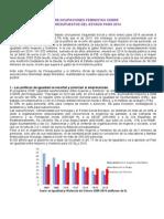 Impacto de Género en Los Presupuestos de 2014