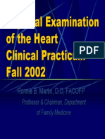 Physical Exam of Heart