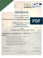 Exemplo Certificados Portugal