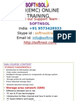 SAP SAN ONLINE TRAINING COURSE