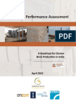 Brick Kilns Performance Assessment