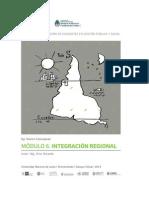 Formarnos - Módulo 6. Integración Regional - 2014