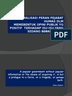 Peran Pejabat Humas dalam membentuk opini publik.ppt
