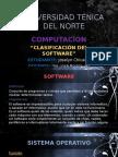 Clasificación Software 20-05-2015