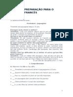 Ficha de Preparação Para o Teste de Francês