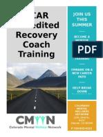 CCAR Training Flyer 6-2015