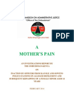 A Mother's Pain February 2014