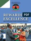 Rewarding Excellence - Report of the Inaugural Huduma Ombudsman Awards 2014