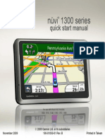 Garmin nüvi 1300 Quick Start Manual