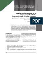 BeatrizRamirez - Derechos Reproductivos y CorteIDH. Apuntes Sentencia Caso FIV