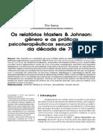 Os relatorios masters e jhonson
