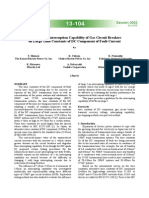 Evaluation of Interruption Capability of Gas Circuit Breakers on Large Time Constants of DC Component of Fault Current