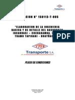 007 Pliego 150113-T-005 Ingenieria Gasoducto Incahuasi Ok