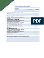 Tabla Evaluación de Recursos Web