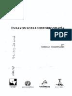 Germán Colmenares - Ensayos Sobre Historiografía