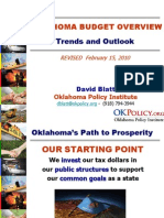 Oklahoma Budget Trends and Outlook (Feb 16, 2010)