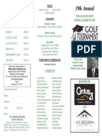 19th Annual William Floyd Scholarship Fund Golf Tournament