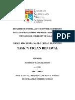 Task 7 Urban Renewal