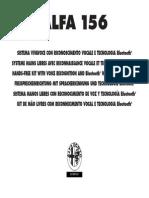 Alfa Romeo 156 2004 Misc Documents-Bluetooth