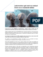 5 Espèces Extraterrestres Qui Sont en Contact Avec La Terre en Ce Moment