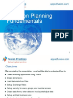 Oracle Hyperion Planning Training Concepts