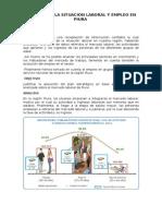 Analisis de La Situación Laboral y Empleo en Piura