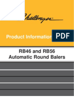 R46 and R56 Round Baler