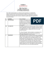 DDA Term Sheet 12th Street Remainder Parcel, May 5 Supplemental FINAL