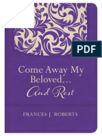 Excerpt - Come Away My Beloved. . .And Rest by Frances J. Roberts