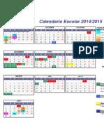 Calendario 2015-16 ESCOLAR CCLM