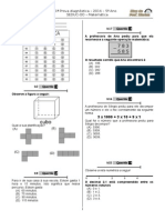 1ª P.D - 2014 (Mat. 5º Ano) - Blog Do Prof. Warles