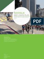 Google Bike Vision Plan