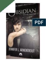 Jennifer L Armentrout - Obsidian