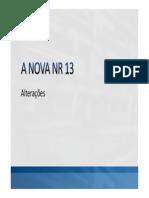 A NOVA NR 13