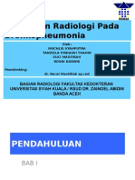 Radiologi Slide BRONKOPNEUMONIA