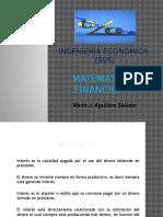 4.1. Matemáticas Financieras-Interés