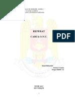 Referat Carta ONU