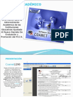 Software AcadÉmico Coanet 1290